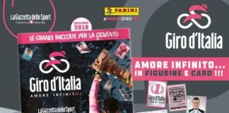 Le Giro 2018 a aussi son album Panini !