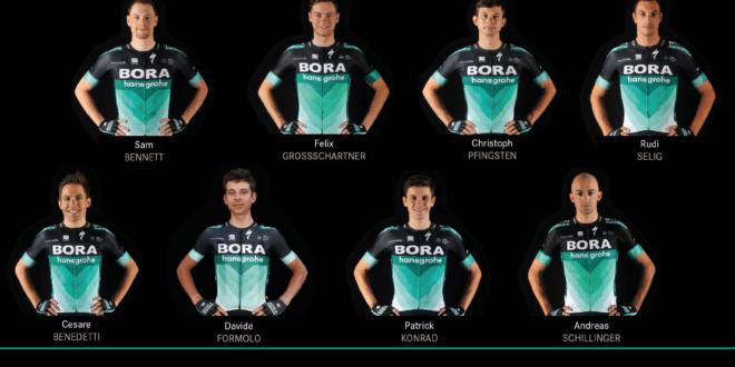 Tour d'Italie 2018 composition Bora Hansgrohe