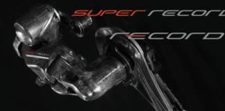 Campagnolo innove avec un groupe 12 vitesses (Super Record et Record) décliné en version patins et disques
