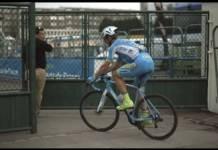 evaldas sikevicius arrivée portes fermés Paris-Roubaix 2018