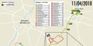 Flèche Brabançonne 2018 parcours