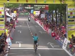 Tour de Romandie avec victoire de Fuglsang