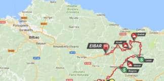 parcours étape 5 tour du pays basque 2018