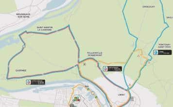 Parcours championnat de France 2018 cyclisme sur route Mantes-la-Jolie