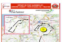 Paris-Camembert 2018 parcours