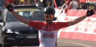 Tour de Romandie avec victoire d'étape de De Gendt