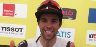 Tour de Romandie 2018 avec Michael Matthews comme premier leader vainqueur du prologue