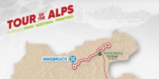 Tour des Alpes 2018 parcours