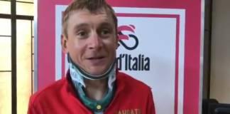 Kanstantsin Siutsou fracture vertèbre cervicale tour d'italie 2018