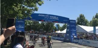 Kendall Ryan remporte étape 1 Tour de Californie féminin 2018