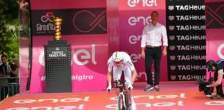Giro 2018 horaires départ du chrono