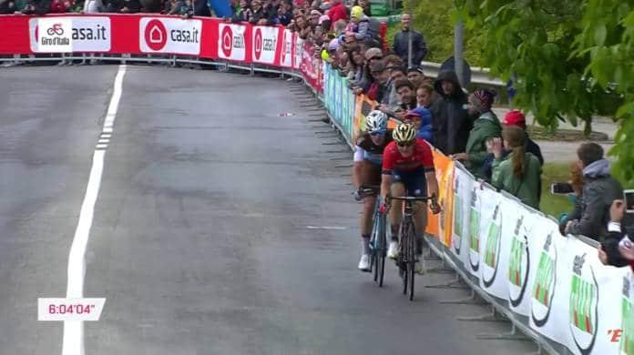 Videos Tour d'Italie 2018 etape 10