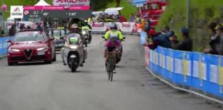 Videos Tour d'Italie 2018 etape 15