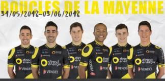 Les Boucles de la Mayenne 2018 avec Direct Energie