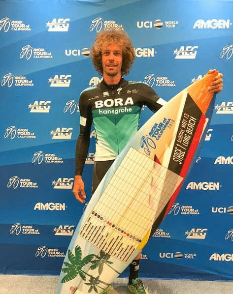 Le Tour de Californie 2018 et Daniel Oss en surfeur !