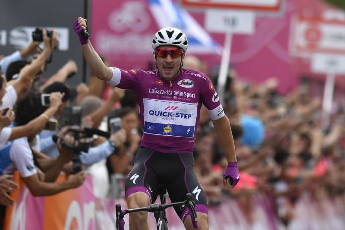 Giro 2018 nouvelle victoire d'Elia Viviani