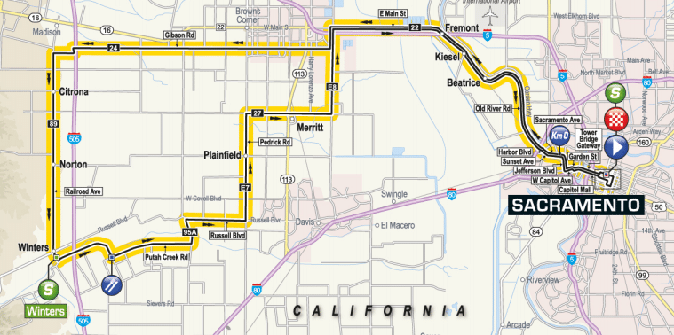 etape 7 tour de californie 2018