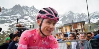Tour d'Italie 2018 réaction Froome
