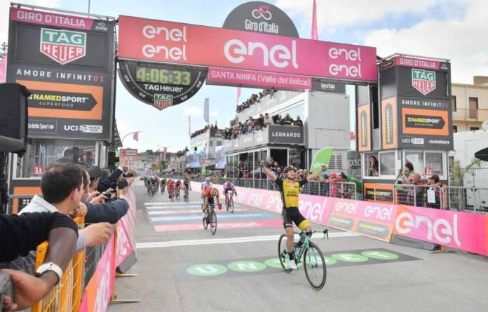 Giro 2018 victoire d'Enrico Battaglin étape 5
