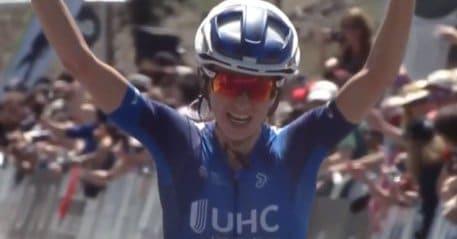 Tour de Californie option prise par Katie Hall