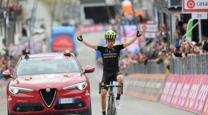 Giro 2018 terminé fort par Nieve