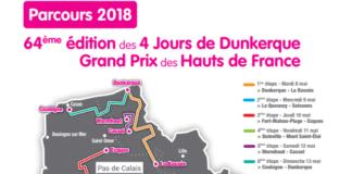 4 jours de dunkerque 2018 parcours