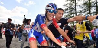 Thibaut Pinot garde le Tour de France à l'esprit