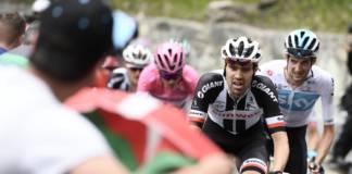 reaction Tom Dumoulin etape 20 Tour d'Italie 2018