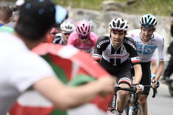 reaction Tom Dumoulin etape 20 Tour d'Italie 2018