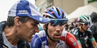 reaction thibaut pinot etape 18 Tour d'Italie 2018