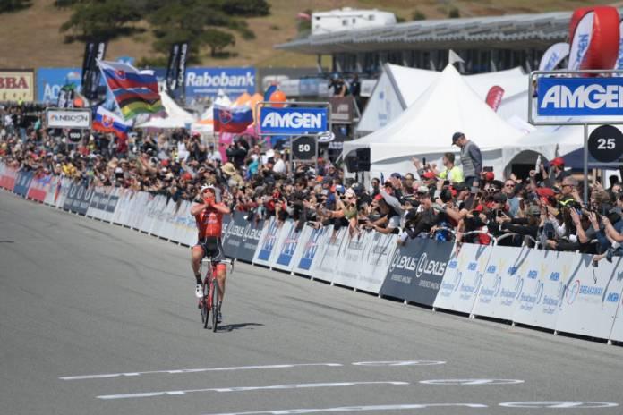 Tour de Californie victoire surprise de Skujins
