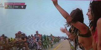 Le Giro 2018 aura eu sa spectatrice topless en Israël !