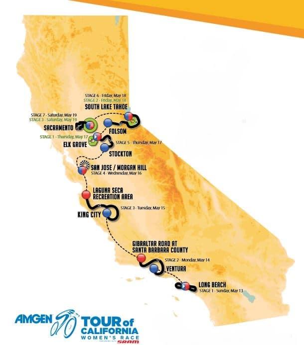 tour de californie 2018 parcours