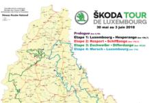 Tour de Luxembourg 2018 parcours
