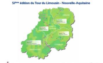 tour du limousin - nouvelle-aquitaine 2018 parcours