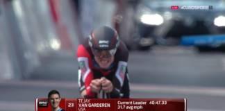 Tour de Californie avec Van Garderen comme eader