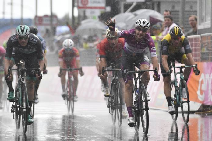 Giro 2018 et 4e victoire de Viviani