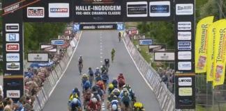 Halle-Ingooigem victoire de Van Poppel