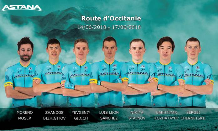 Astana Route d'Occitanie 2018