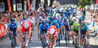 Bouhanni vainqueurr etape 1 Route d'Occitanie 2018