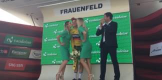 Classement general Tour de Suisse 2018 etape 2