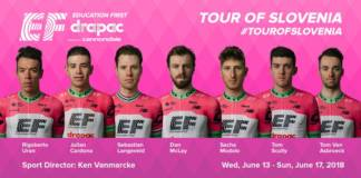EF Education First-Drapac Tour de Slovenie 2018