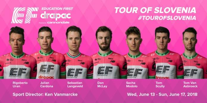 EF Education First-Drapac Tour de Slovenie 2018