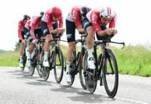Gel aerodynamique Lotto Soudal Criterium du Dauphine 2018 interdit par l'UCI