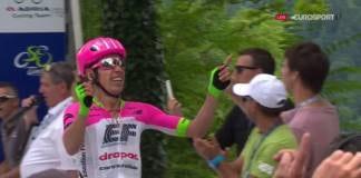 Rigoberto Uran remporte etape 3 Tour de Slovenie 2018