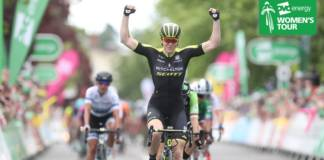 Sarah Roy remporte etape 3 OVO Energy Women's Tour 2018