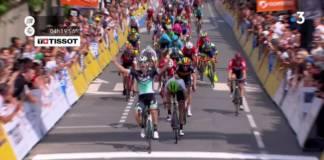 Pascal Ackermann s'est imposé sur le Critérium du Dauphiné