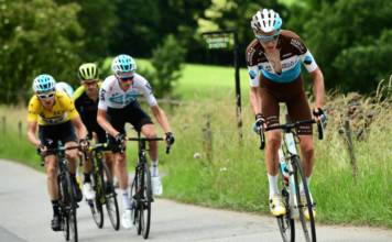 Romain Bardet satisfait de son Dauphiné
