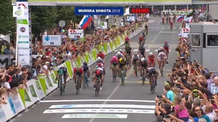 Tour de Slovénie victoire de Consonni