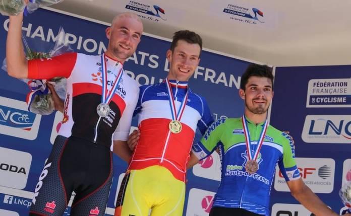 Geoffrey Bouchard champion de France sur route 2018